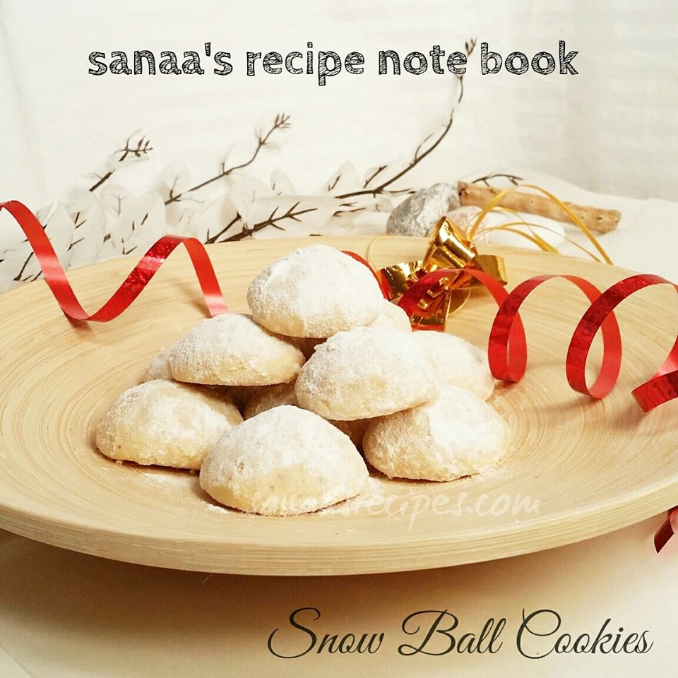 Snowball Cookies - sanaa's recipe