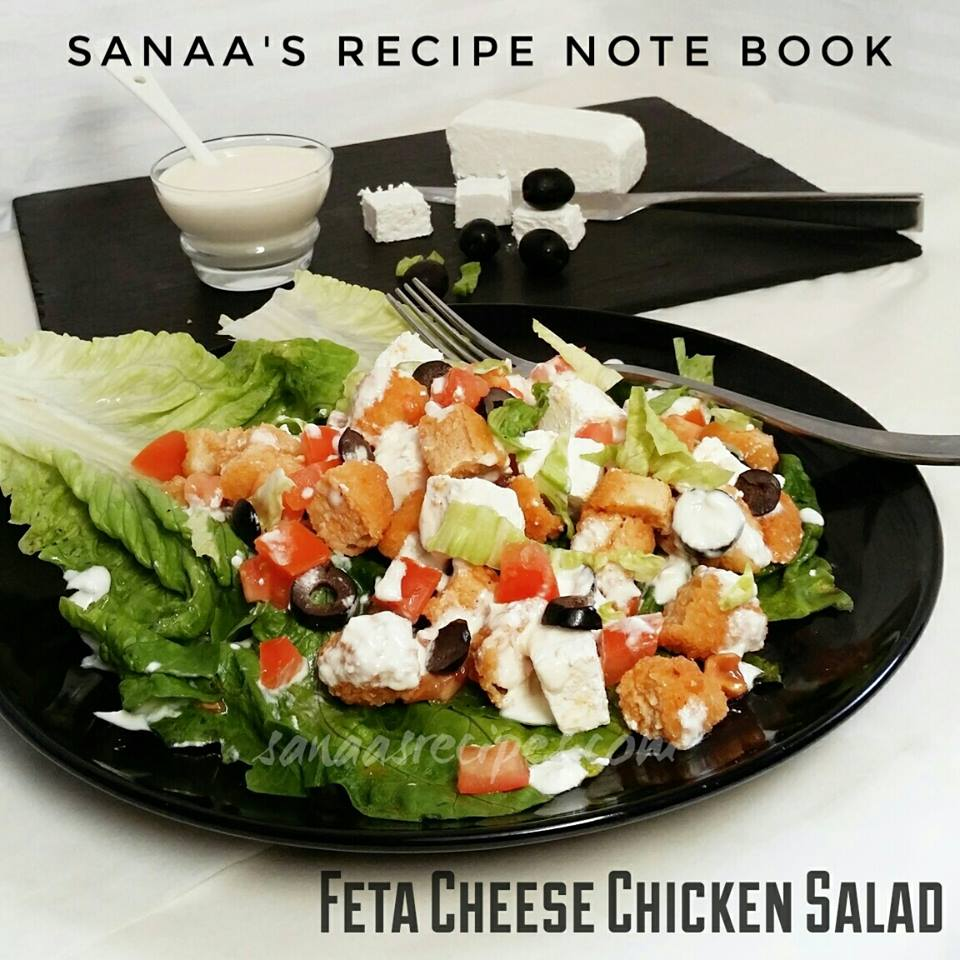 Feta Cheese Chicken Salad - sanaa's recipe
