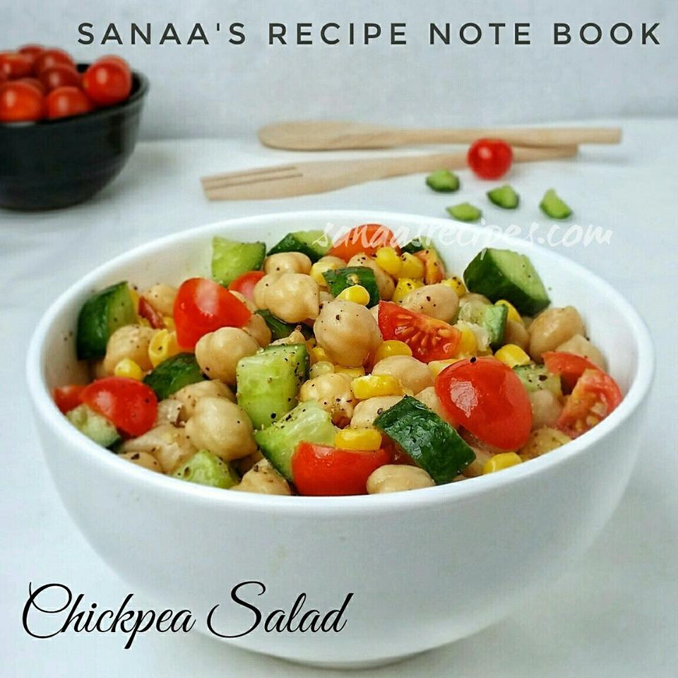 Chickpea Salad - sanaa's recipe
