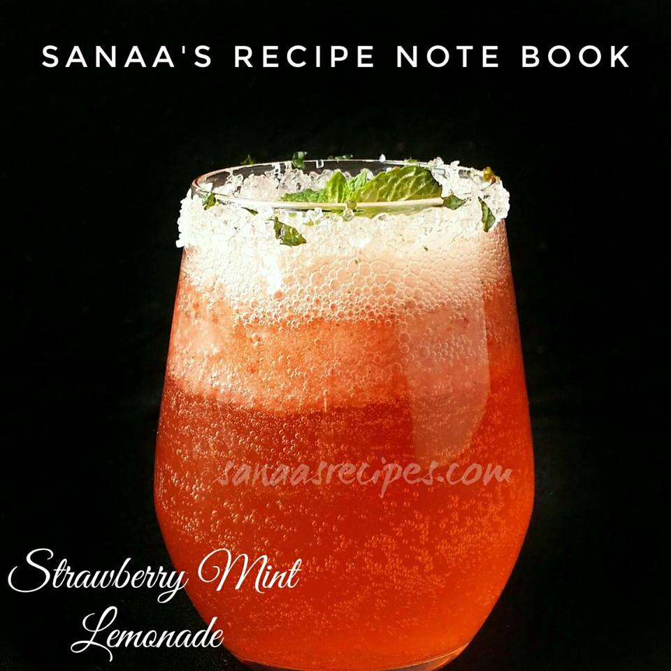 Strawberry Mint Lemonade - sanaa's recipe