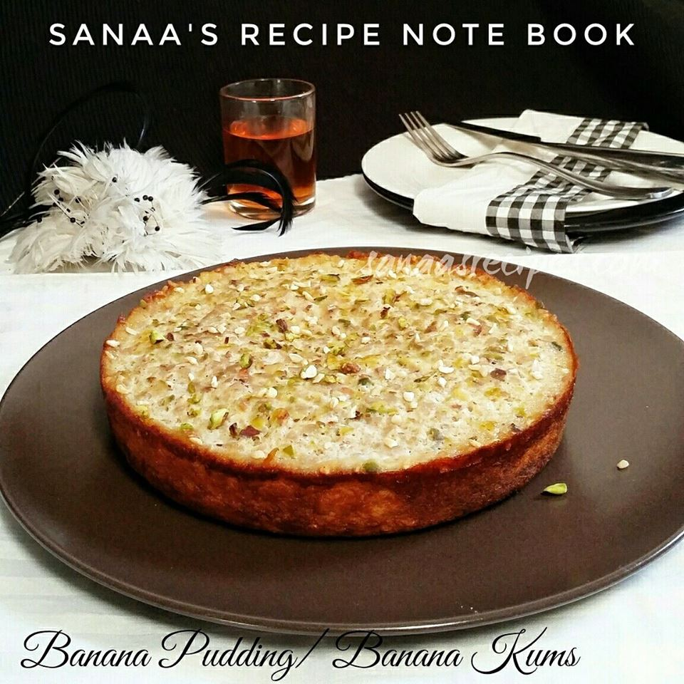 Banana Pudding/ Banana Kums - sanaa's recipe
