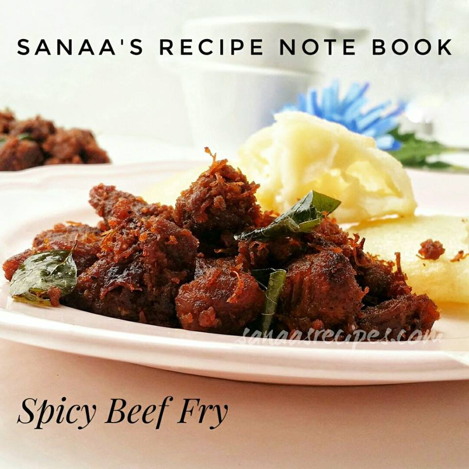Spicy Beef Fry - sanaa's recipe