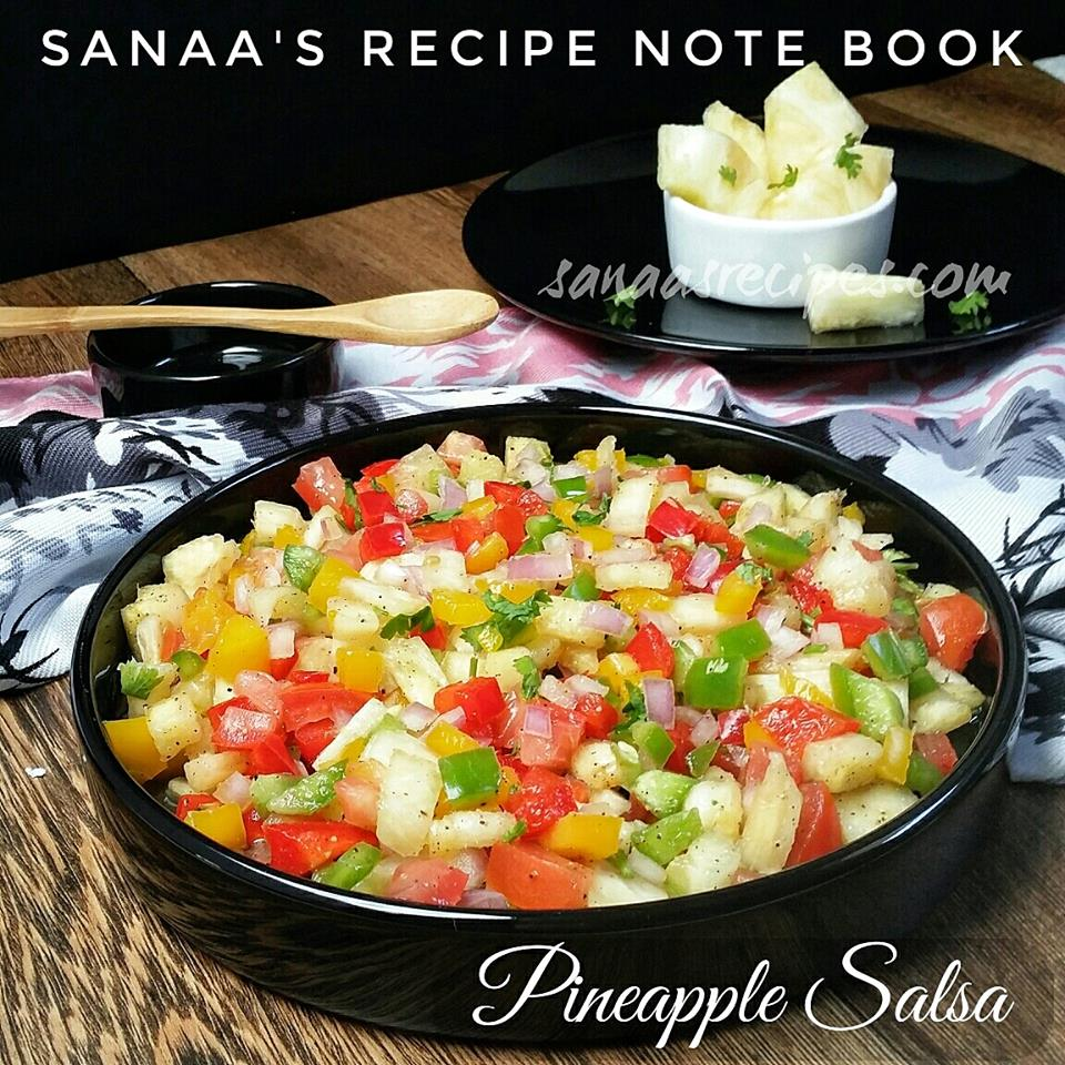 Pineapple Salsa - sanaa's recipe