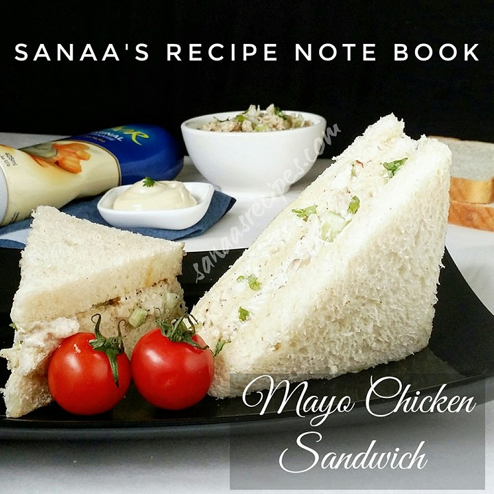 Mayo Chicken Sandwich - sanaa's recipe