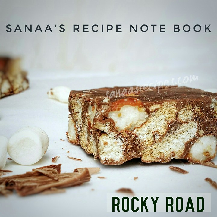 Rocky Road - sanaa's recipe
