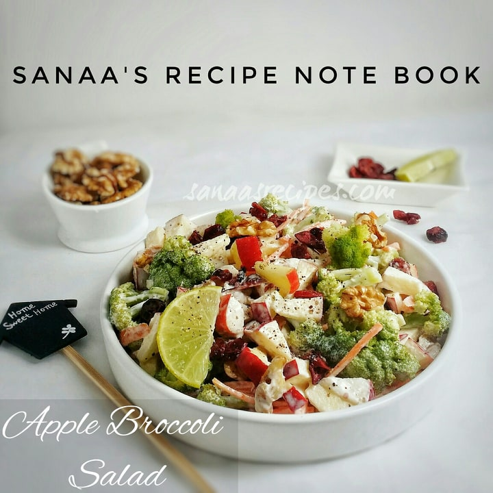 Apple Broccoli Salad - sanaa's recipe