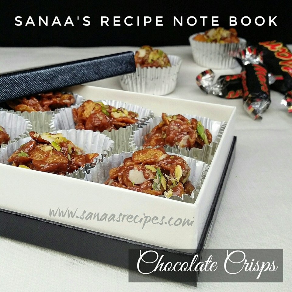 Chocolate Crisps - sanaa's recipe