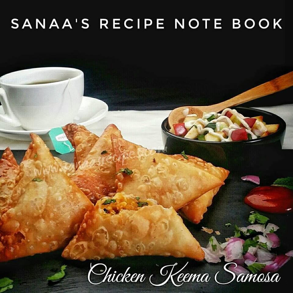Chicken Keema Samosa - sanaa's recipe