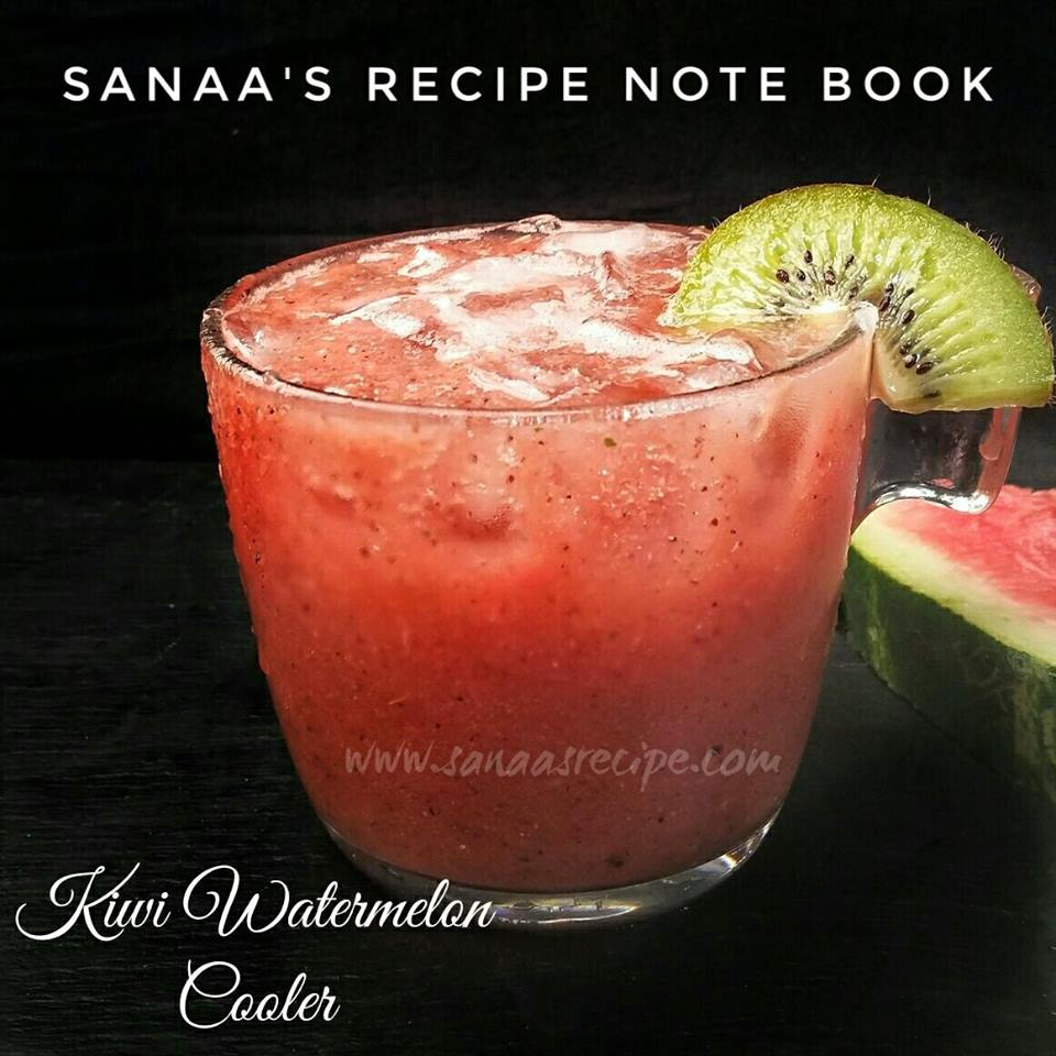 Kiwi Watermelon Cooler - sanaa's recipe