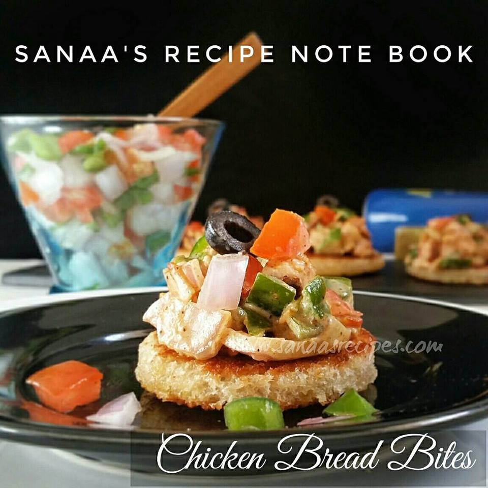 Chicken Bread Bites - sanaa's recipe