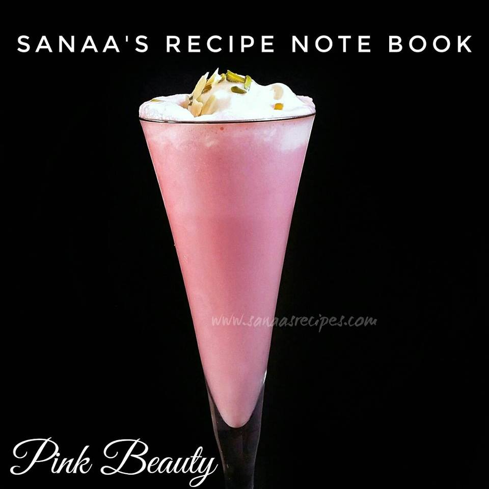 Pink Beauty - sanaa's recipe
