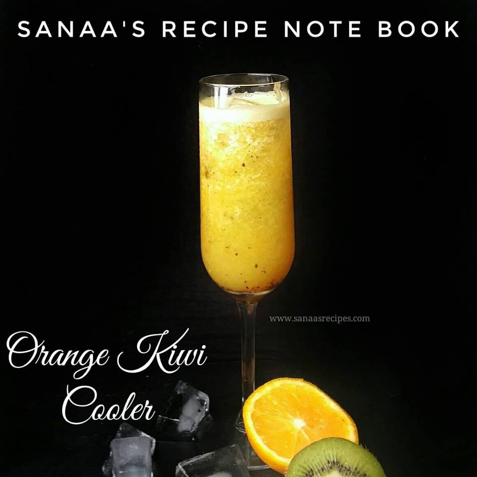 Orange Kiwi Cooler - sanaa's recipe