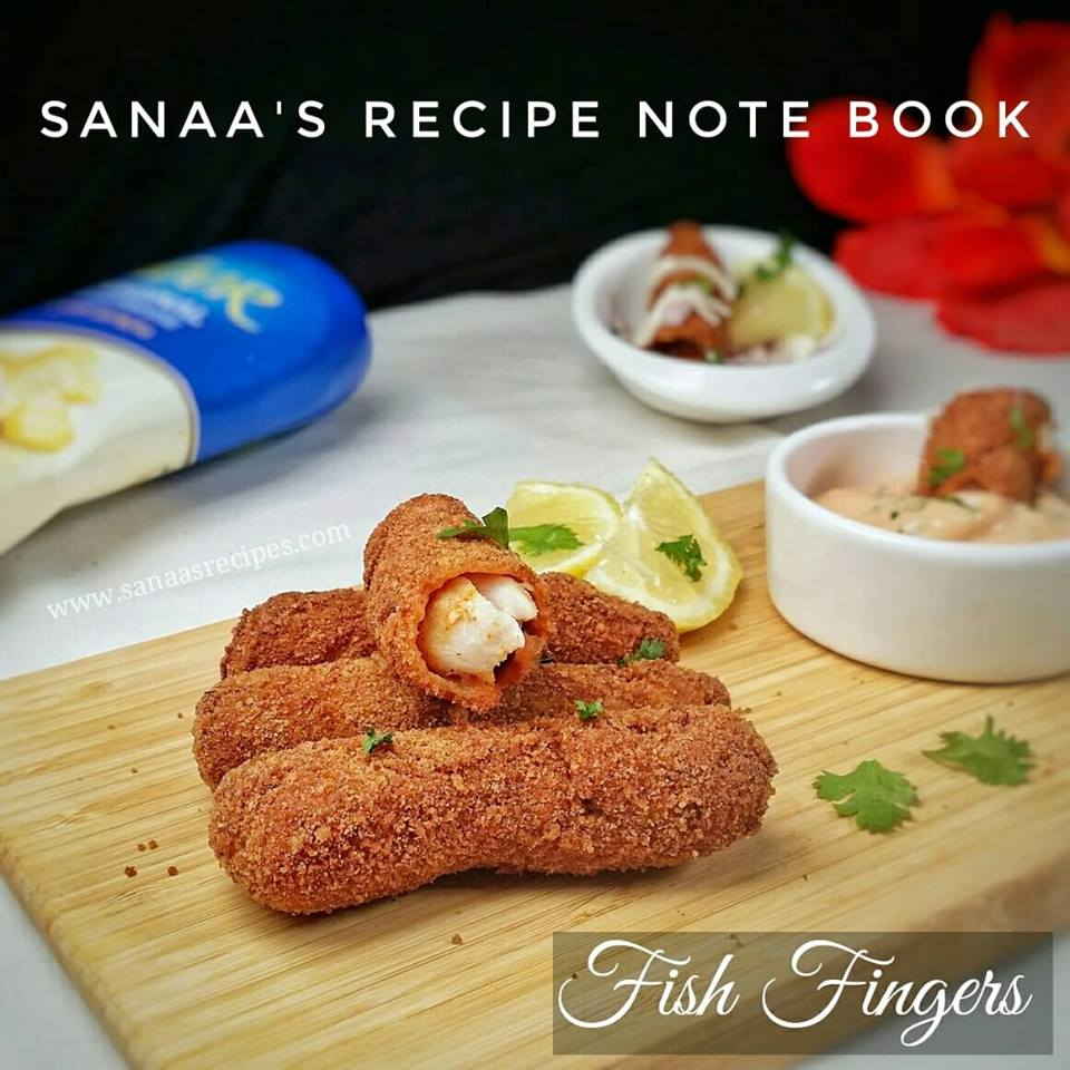Fish Fingers - sanaa's recipe
