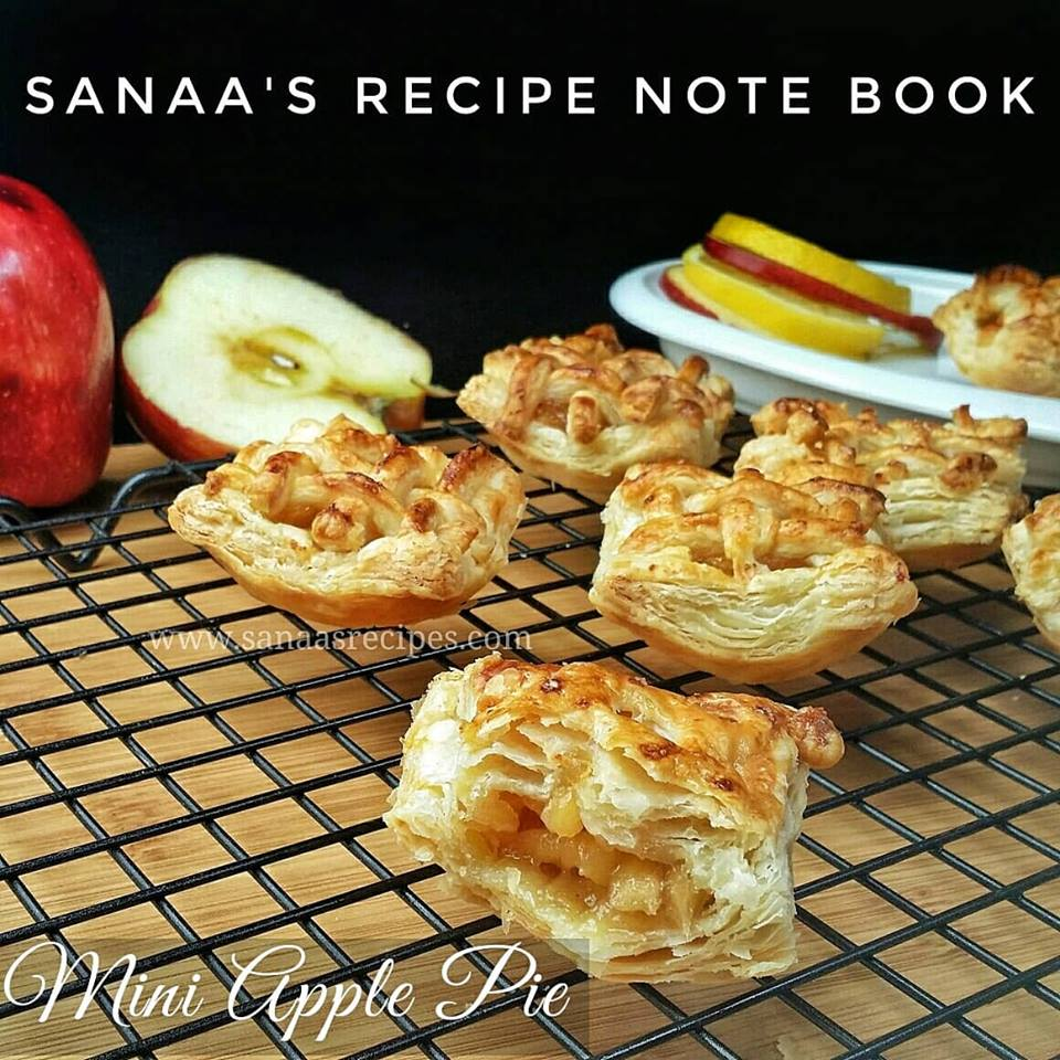 Mini Apple Pie - sanaa's recipe