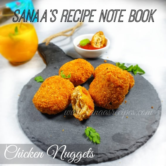 Chicken Nuggets - sanaa's recipe