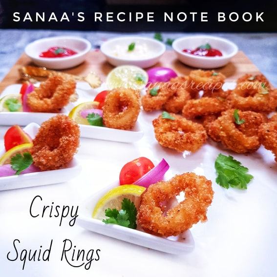 Crispy Squid Rings - sanaa's recipe
