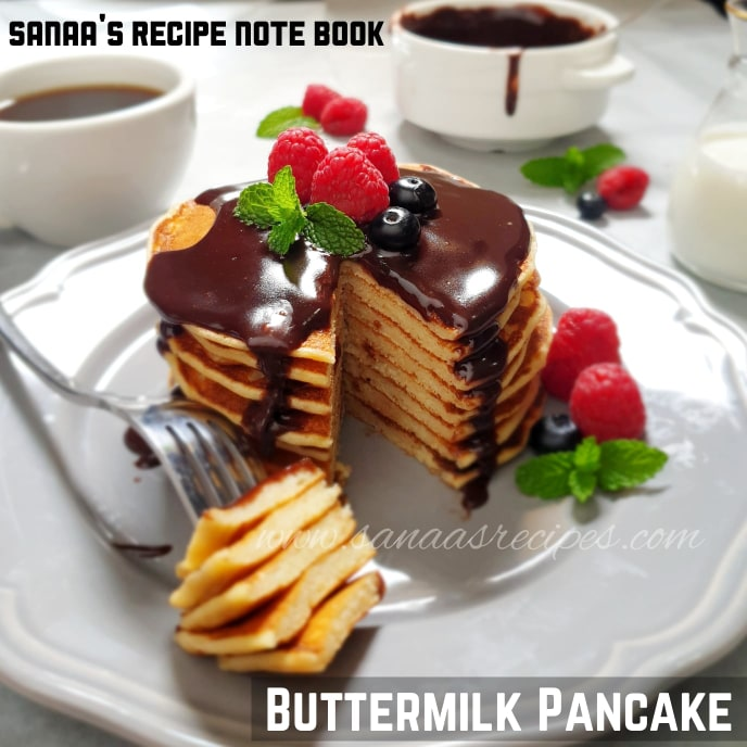 Buttermilk Pancake - sanaa's recipe