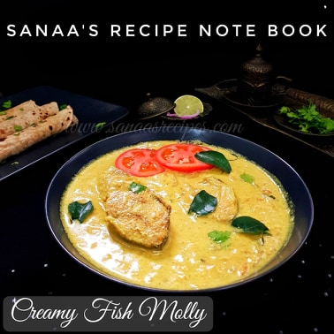 Creamy Fish Molly - sanaa's recipe