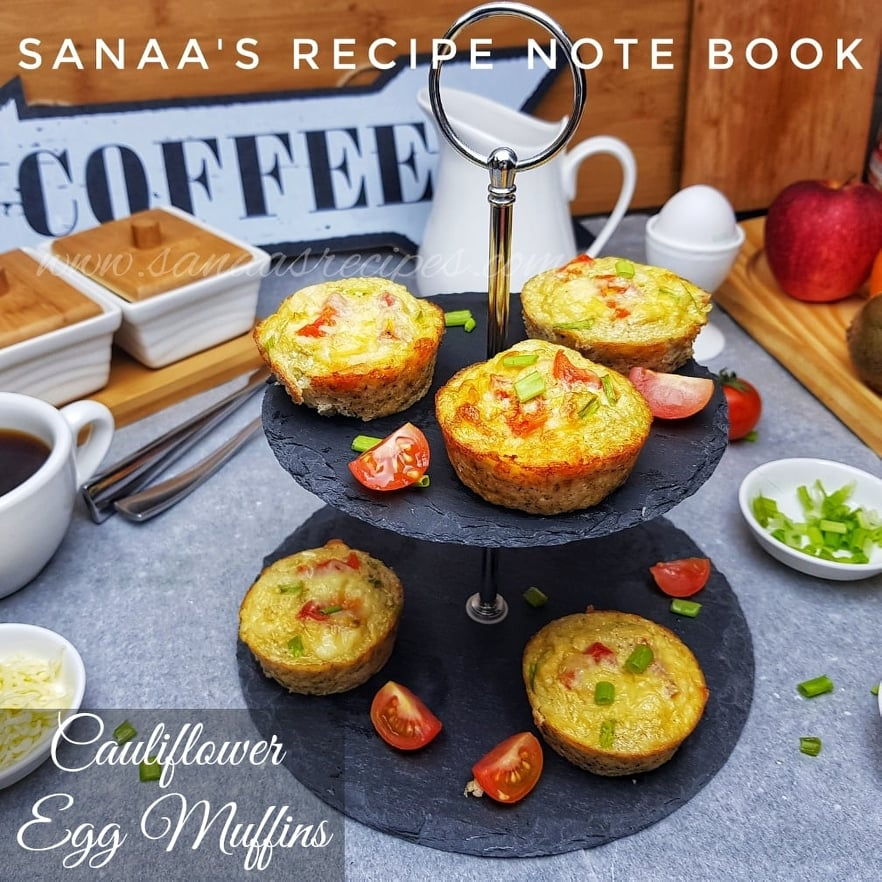 Cauliflower Egg Muffins - sanaa's recipe
